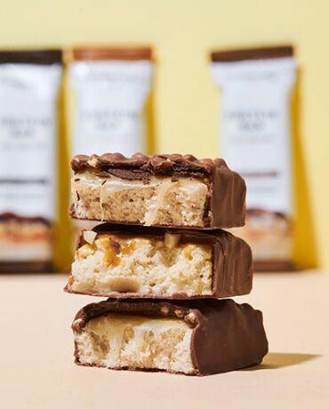 Barretta proteica extra cioccolato pacchetto da 12