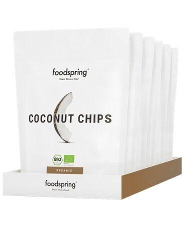 Chips di cocco confezione da 6