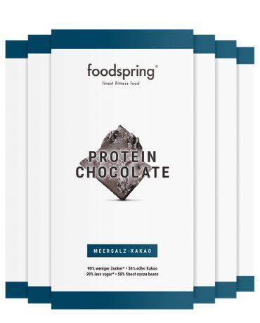 Cioccolata proteica confezione da 6