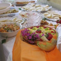 buffet bio vegetariano week end benessere 01