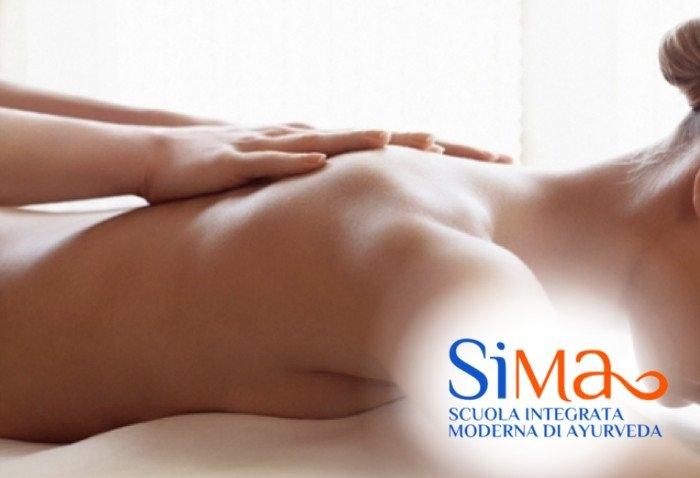 Corso massaggio ayurvedico Abano Terme