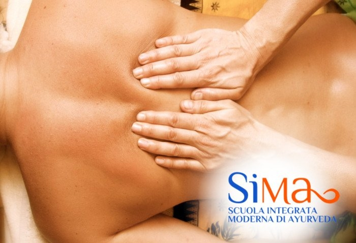 Corso massaggio ayurvedico Belluno