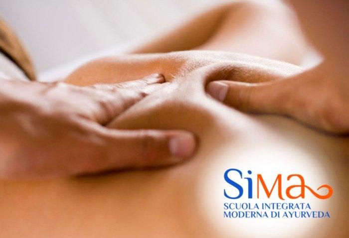 Corso massaggio ayurvedico Vicenza
