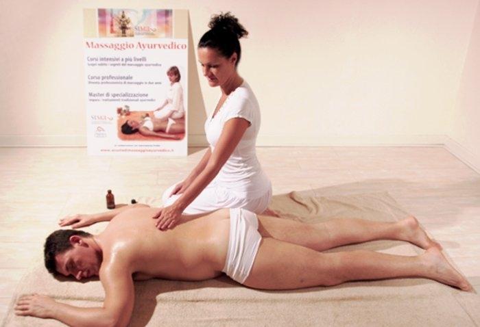 Corso massaggio ayurvedico Roma a Viterbo