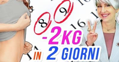 Ecco come dimagrire 2 chili di grasso addominale velocemente