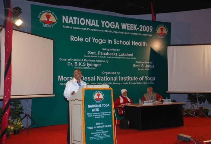 Yoga e Naturopatia: nuove istituzioni in India